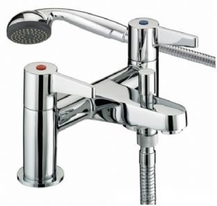 Bristan Design Utility Lever Contract Bath Shower Mixer/filler taps